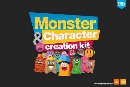 Monsters and Character creation kit