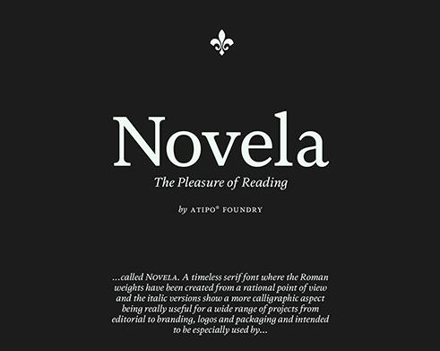 Novela Font Family