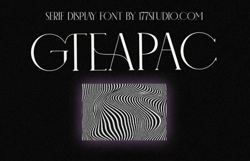CM - Gteapac Font 6562338