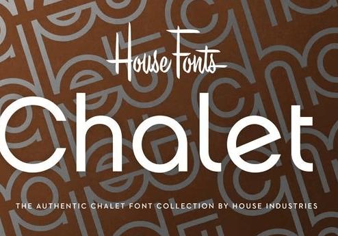 Chalet Font Family