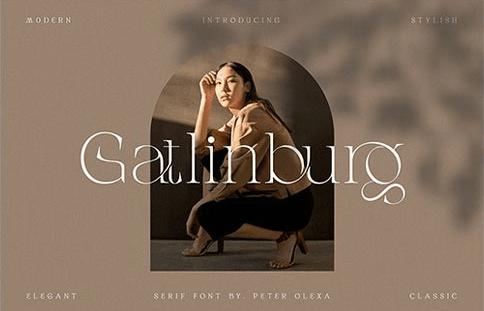 CM - Gatlinburg - Modern Serif Font 6429408