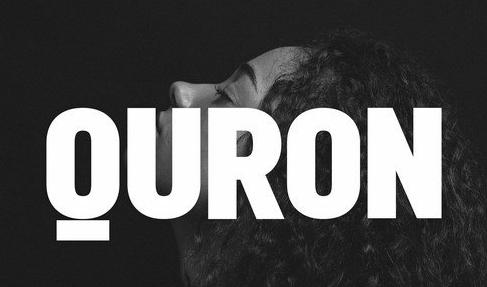 Quron Display typefaces + webfonts