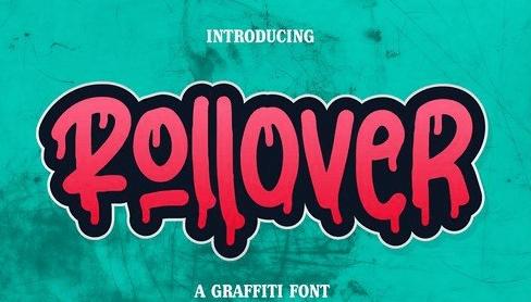 Rollower A Graffiti Font