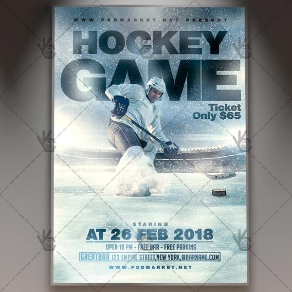 20 Hockey Flyer Template Sports Pictures And Ideas On Meta Networks