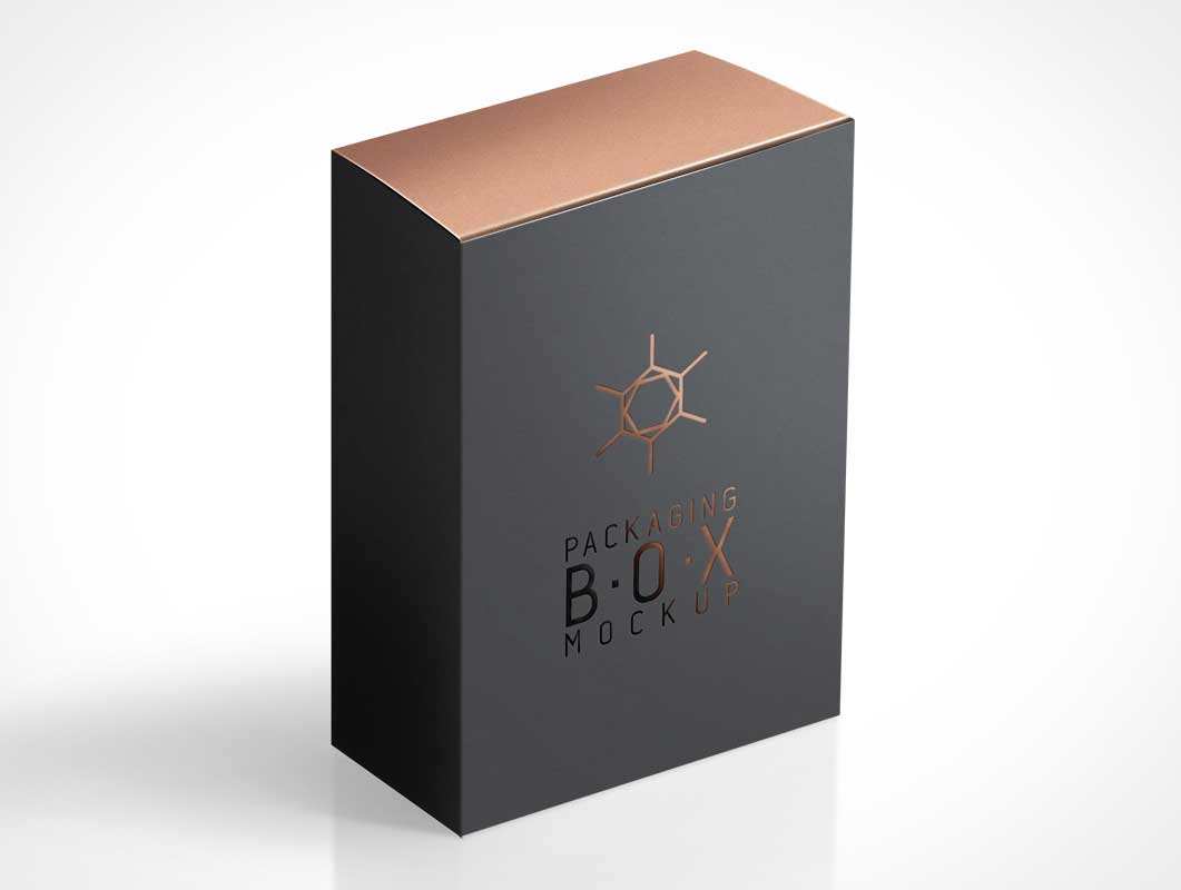 Download Product Box Packaging Isometric View PSD Mockup - PSD Mockups
