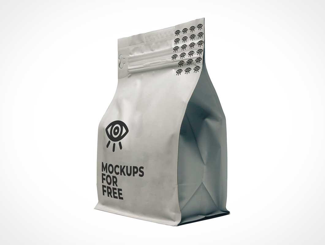 A 2300 x 1800 px sized free psd. Ziplock Sealed Airtight Foil Pouch Psd Mockup Psd Mockups