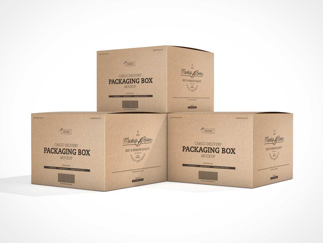 Download Cardboard - PSD Mockups