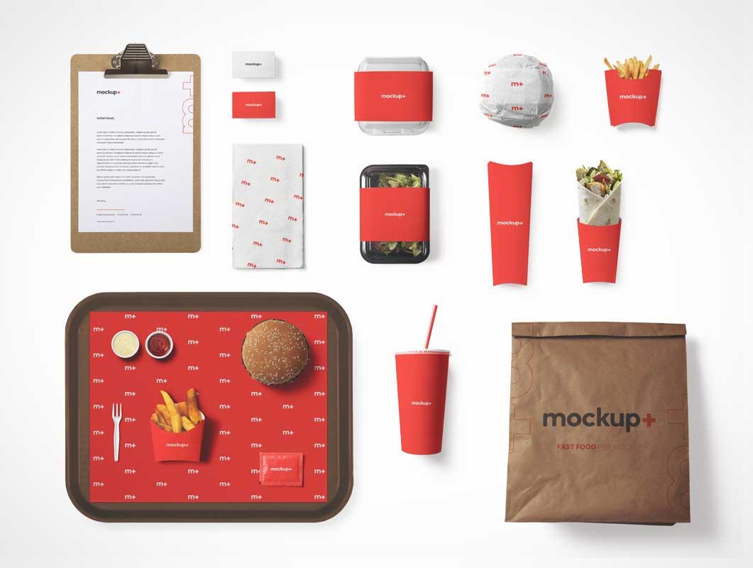 Download Fast Food - PSD Mockups