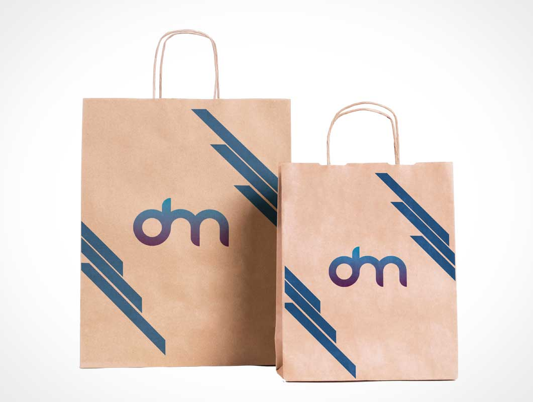 Maybe one of them is. Paper Bag Psd Mockups