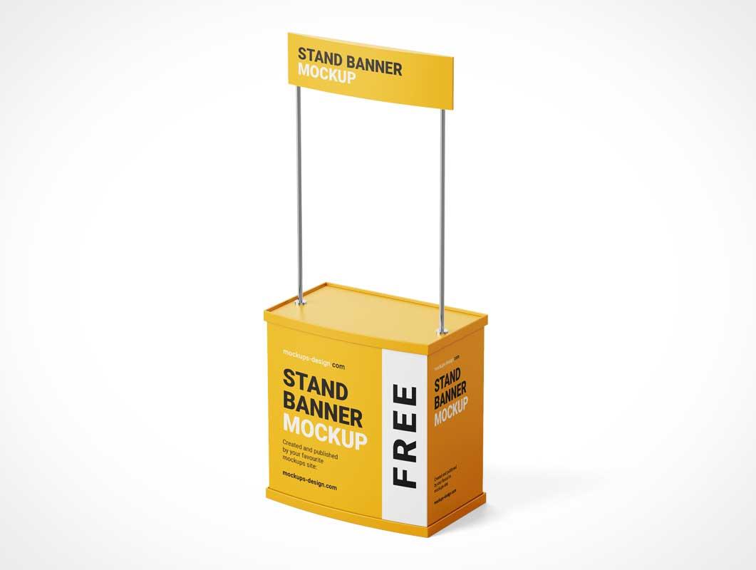 Digital kiosk mockup stock template | adobe stock. Event Psd Mockups