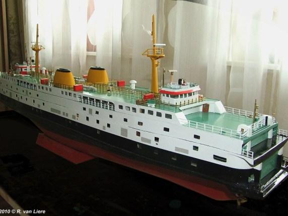 © R. van Liere | Foto van het Prins Willem-Alexander model van L. Hamelink.