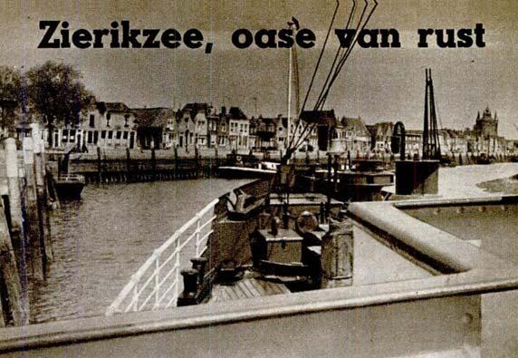 PSD-veerboot Oosterschelde in Zierikzee