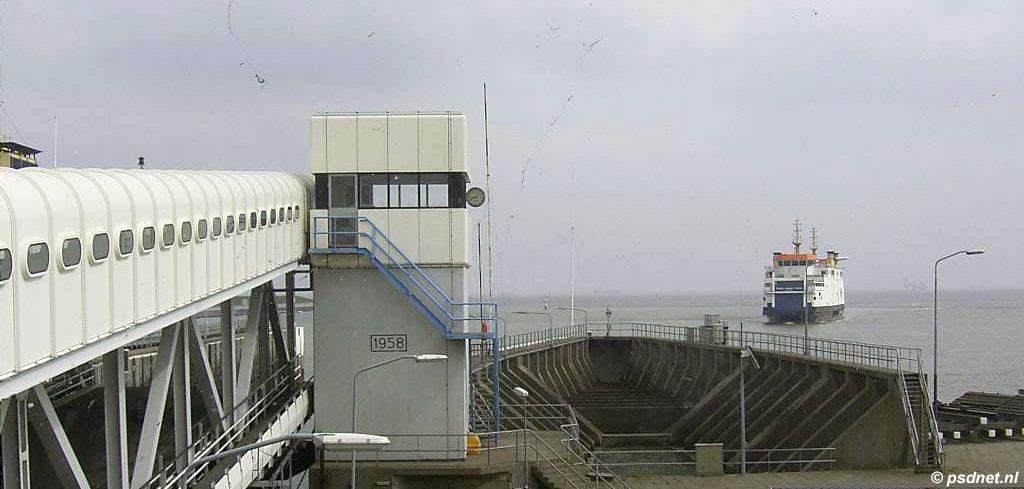 Uitzicht PSD-terminal