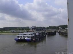 Veerhaven Breskens met SWATH en PSD