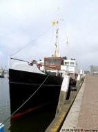Aan de kade in Scheveningen