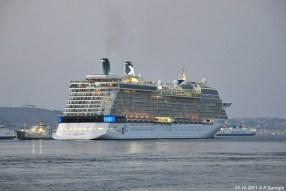 De Amedeo Matacena (1986), het cruiseschip Celebrity Equinox en de Acciarello (1997).