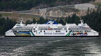 De grootste BC-ferry
