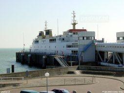 De PSD-boot Beatrix in de fuik van Vlissingen op 15 maart 2003.