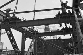 Bouw van de brug