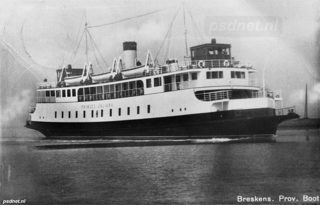 Breskens met nieuwe ferryboot