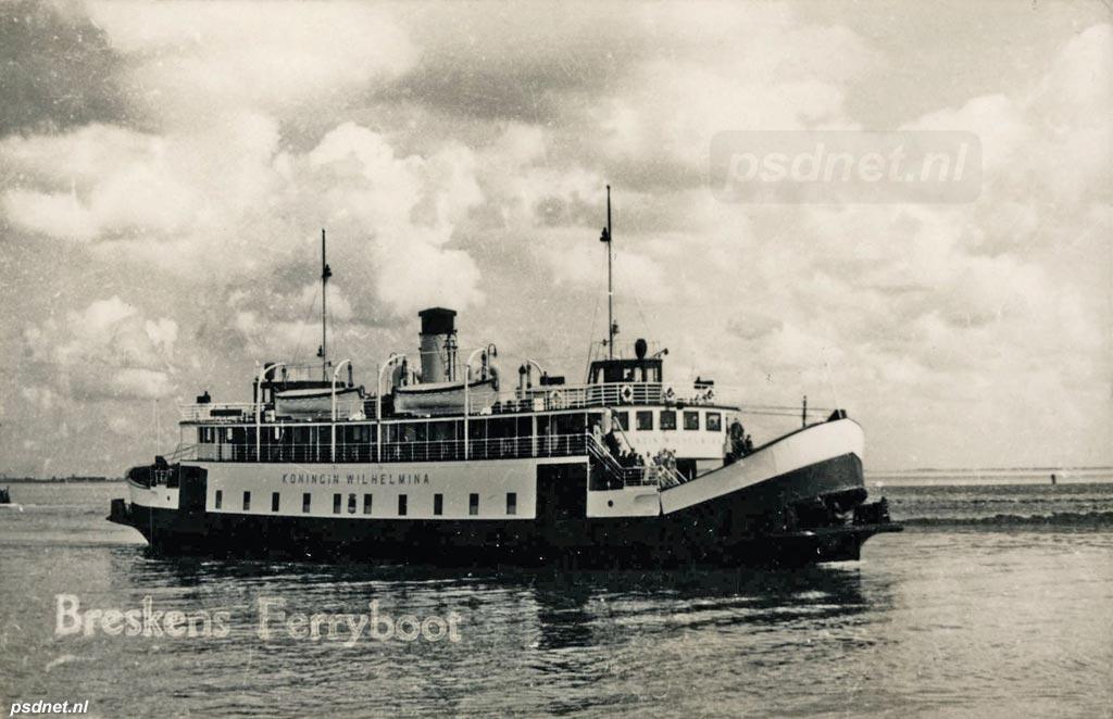 Breskens met ferryboot