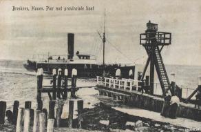 Havenhoofd Breskens met PSD-boot