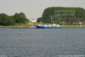 Kamperland met boot Stad Veere