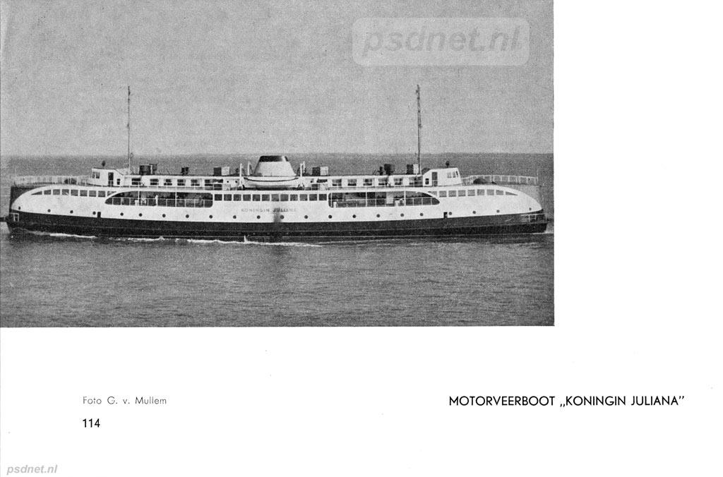 Uit 'De Kleine Vloot' 1950