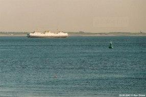 Voor de kust van Zeeuws-Vlaanderen