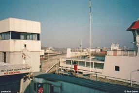 Naast de PSD-fuik van Vlissingen was de ligplaats voor de tweede veerboot van de dienst Vlissingen-Breskens. Op sommige dagen werd de dienst alleen uitgevoerd met de dienstboot.