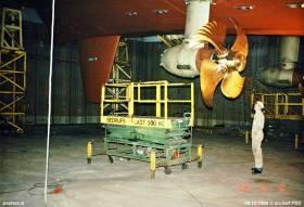 Inspectie van een thruster.