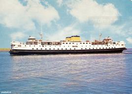 Een Zeeuwse ansichtkaart met de veerboot Prinses Margriet (1964).