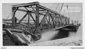 Nieuwe brug naar ponton Vlissingen