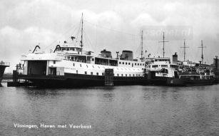 PSD-veerboten in de Binnenhaven