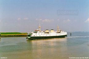 Perkpolder aankomst veerboot