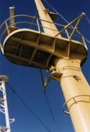 De mast van de PWA