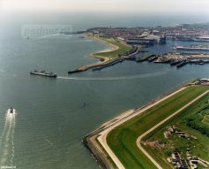 Luchtfoto Irene in Vlissingen