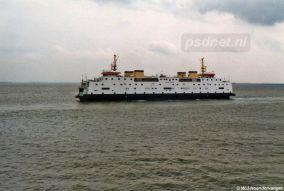 Van 1997 tot 2003 heeft de veerboot Prinses Juliana gevaren op de veerdienst Kruiningen-Perkpolder. In 1995 (25 september tot 1 december 1995) kwam de Juliana voor het eerst invallen op de oostelijke veerdienst.