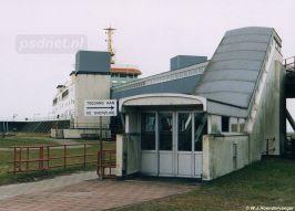 De PSD-terminals van Kruiningen en Perkpolder waren uitgerust met roltrappen zodat passagiers comfortabel zich naar het promenadedek konden begeven.