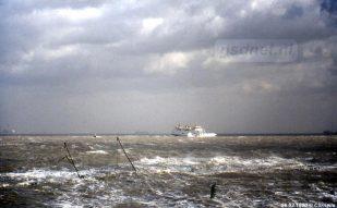 Ook met windkracht 10 werd er door de PSD gevaren wanneer het geen probleem was om veilig aan te meren in Vlissingen of Breskens.