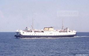 Sinterklaasavond 5 december 1976 kwam de Prinses Margriet in aanvaring met het Japanse vrachtschip Azalea, een aantal auto's liepen hierbij blikschade op door de klap van de aanvaring.