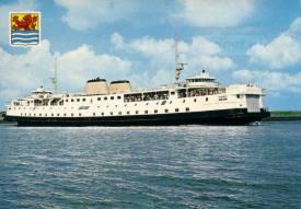 In Zeeland waren wel honderden verschillende ansichtkaarten in omloop met veerboten. Op deze ansichtkaart zien we de Prinses Margriet (1964) in de Buitenhaven.