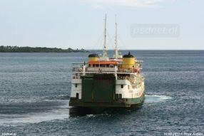 SMS Kartanegara - Passage in 2013 (2)