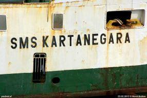 SMS Kartanegara - Scheepsnaam
