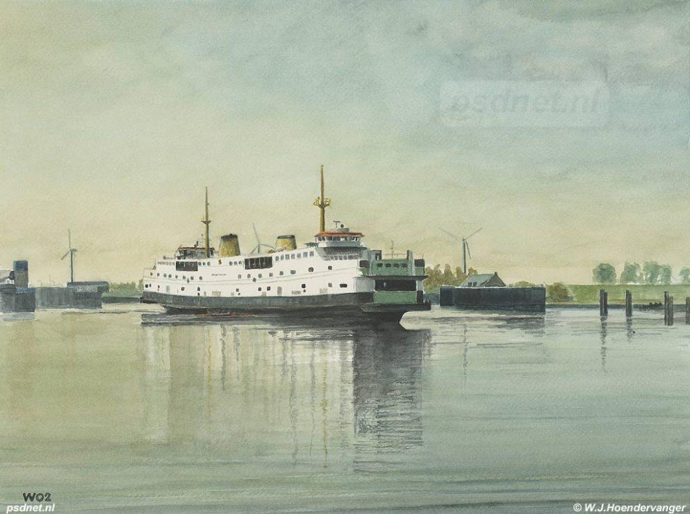 Schilder: W.J.Hoendervanger