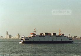 Vlissingen Skyline was volgens sommigen het mooiste vanaf de PSD-boot.