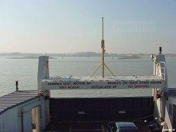 De nieuwste PSD-boten boden het beste uitzicht over de Westerschelde omdat je op deze schepen ook voorop kon staan.