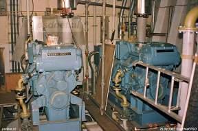 Voor het laagspanningsnet op de dubbeldeksveerboot zijn vier dieselgeneratorsets (240 kW) geplaatst van Volvo-Penta. Het gaat om type TAMD 122A/HE (1500 omwentelingen per minuut).