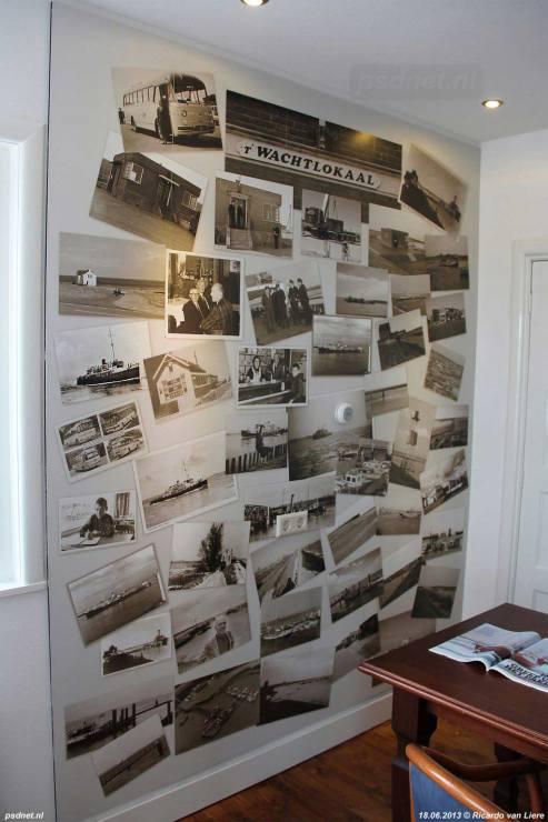 PSD-foto's in voormalig PSD-kantoor Hoedekenskerke