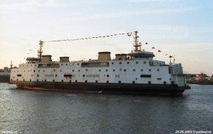 In Italië komen de drie oudste PSD-veerboten niet echt aan varen toe. In 2013 werden de oudste twee schepen gesloopt in Turkije.